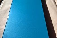 Качество покраски профиля RAL 5025 (металлик)