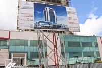 Фасадное остекление торгового центра