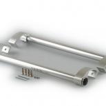 ELM 0050_01 ручка алюминиевая дверная