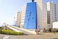 Структурное остекление фасада здания