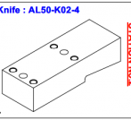 Нож ALS-50-K02-4