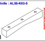 Нож ALS-50-K03-5