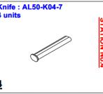 Нож ALS-50-K04-7