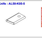Нож ALS-50-K05-5