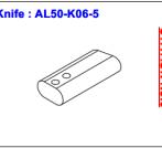 Нож ALS-50-K06-5