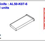 Нож ALS-50-K07-6
