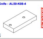 Нож ALS-50-K08-4