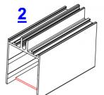 2. Вырубка задней стенки на ригеле