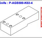 Нож P-AGS500-K02-4