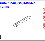 Нож P-AGS500-K04-7