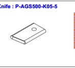 Нож P-AGS500-K05-5
