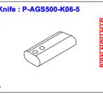 Нож P-AGS500-K06-5