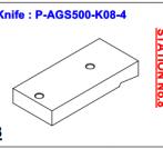 Нож P-AGS500-K08-4