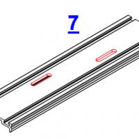 7. Вырубка отверстий в прижиме под вентилляцию