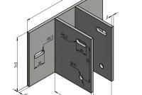 Несущий кронштейн для алюминиевого фасада