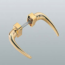 Нажимная алюминиевая ручка под золото купить оптом