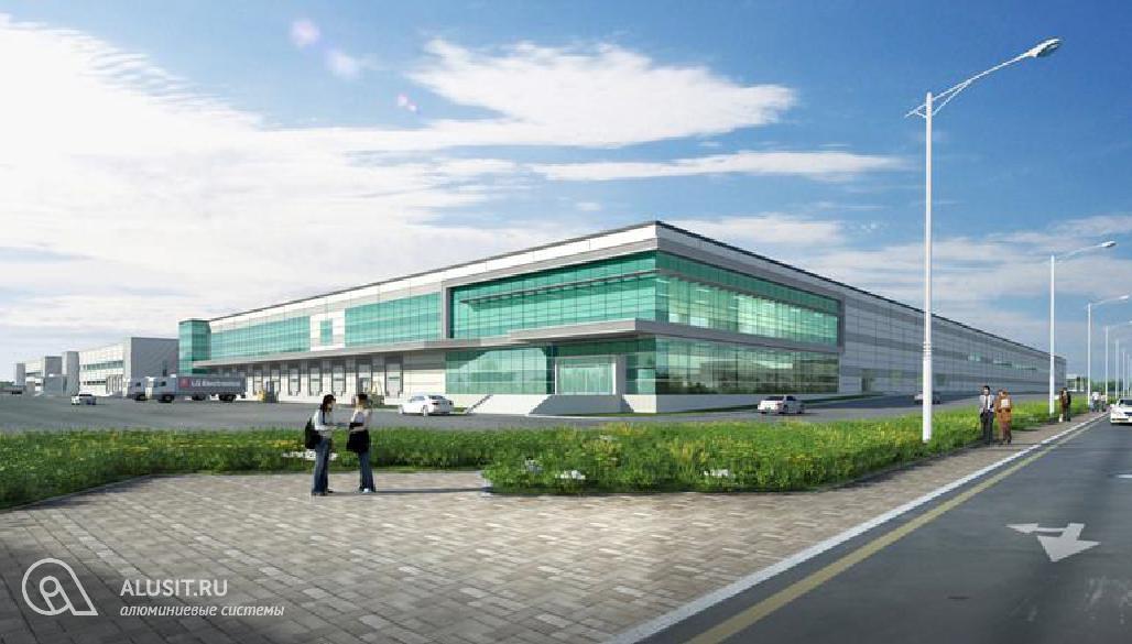 Производственный корпус завода LG (Московская обл. СП Дороховское)